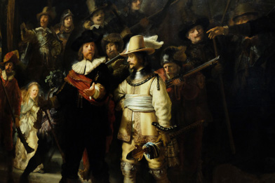 Nacthtwacht by Rembrandt